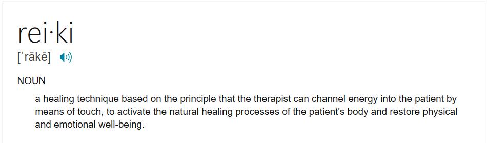 reiki definition